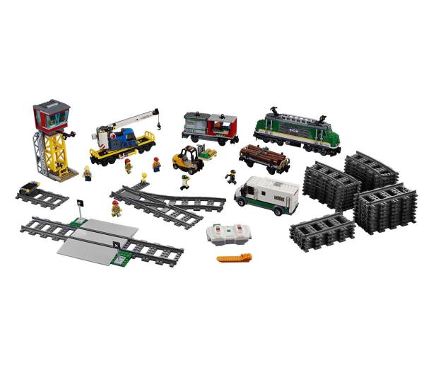LEGO City 60198 Pociąg towarowy - 436998 - zdjęcie 7
