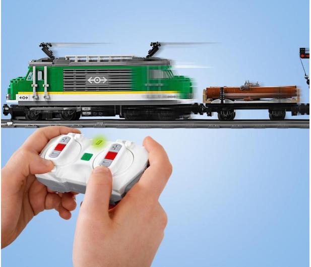 LEGO City 60198 Pociąg towarowy - 436998 - zdjęcie 4