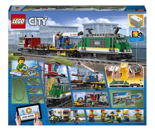 LEGO City 60198 Pociąg towarowy - 436998 - zdjęcie 8