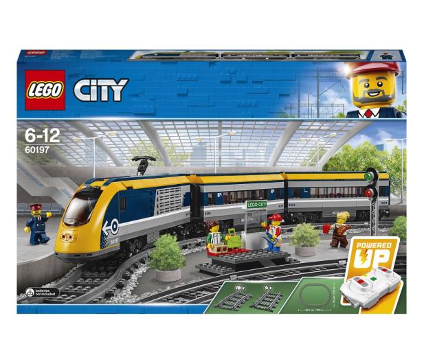 LEGO City 60197 Pociąg pasażerski - 436999 - zdjęcie