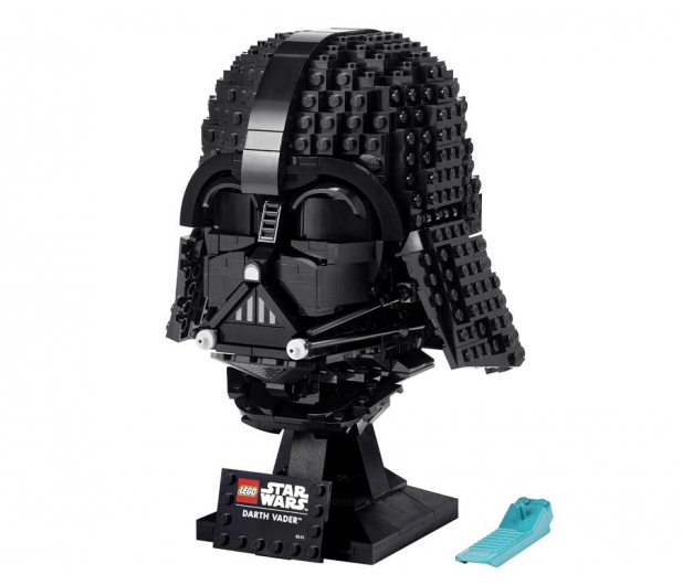 LEGO Star Wars 75304 Hełm Dartha Vadera - 1018421 - zdjęcie 7