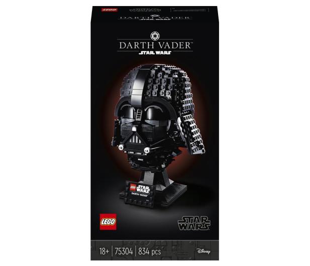 LEGO Star Wars 75304 Hełm Dartha Vadera - 1018421 - zdjęcie