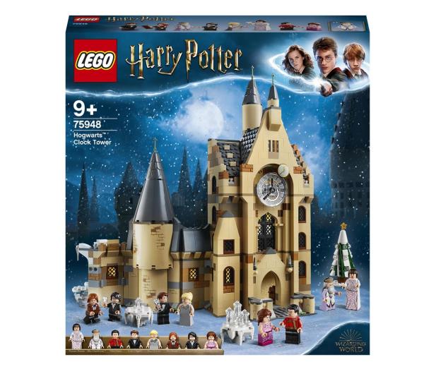 LEGO Harry Potter 75948 Wieża zegarowa na Hogwarcie™ - 496235 - zdjęcie