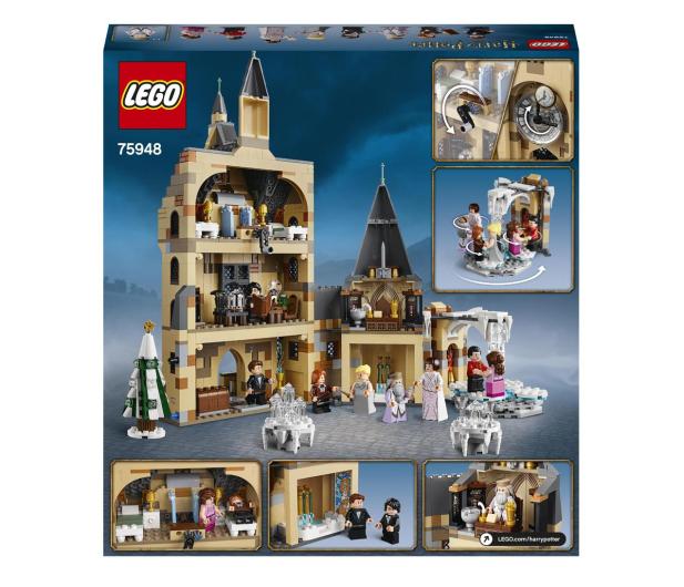 LEGO Harry Potter 75948 Wieża zegarowa na Hogwarcie™ - 496235 - zdjęcie 9