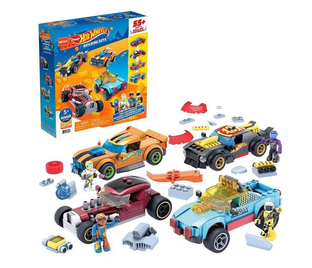 Mega Bloks Mega Construx Hot Wheels Pojazdy do tuningu - 1023559 - zdjęcie