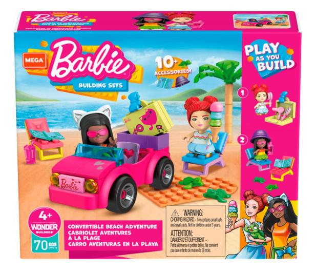 Mega Bloks Mega Construx Barbie Plażowanie w Malibu - 1023442 - zdjęcie