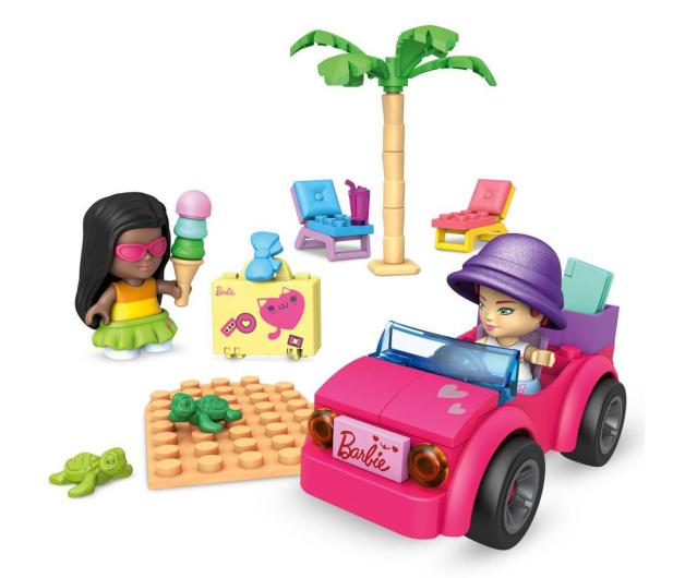 Mega Bloks Mega Construx Barbie Plażowanie w Malibu - 1023442 - zdjęcie 2