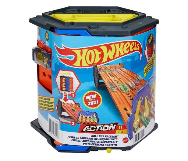 Hot Wheels Rozwijany tor wyścigowy - 1023331 - zdjęcie