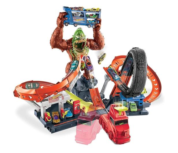 Hot Wheels Goryl toksyczny atak zestaw do zabawy - 1023332 - zdjęcie 3