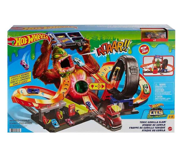Hot Wheels Goryl toksyczny atak zestaw do zabawy - 1023332 - zdjęcie 2