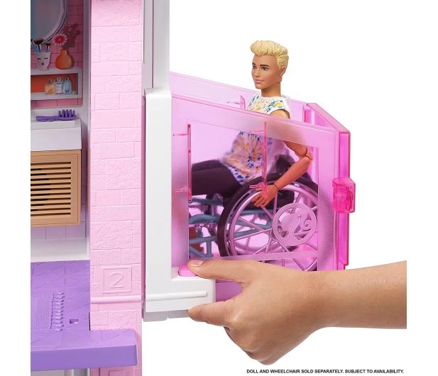 Barbie Dreamhouse Deluxe domek dla lalek - 1023251 - zdjęcie 6