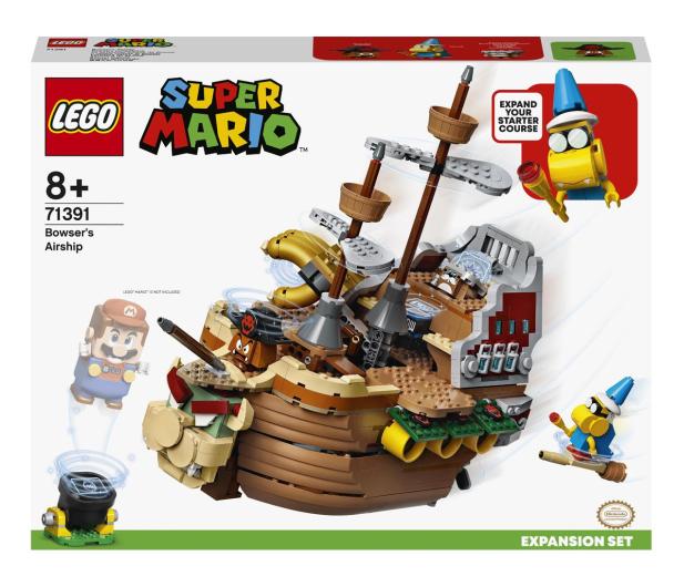 LEGO Super Mario 71391 Sterowiec Bowsera - 1022686 - zdjęcie