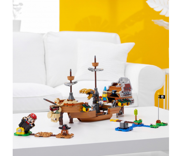 LEGO Super Mario 71391 Sterowiec Bowsera - 1022686 - zdjęcie 4