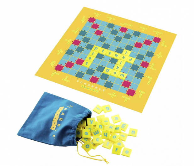 Mattel Scrabble Junior - 158657 - zdjęcie 2