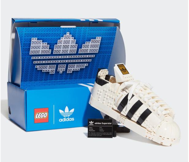 LEGO Adidas 10282 Originals Superstar - 1024890 - zdjęcie 8