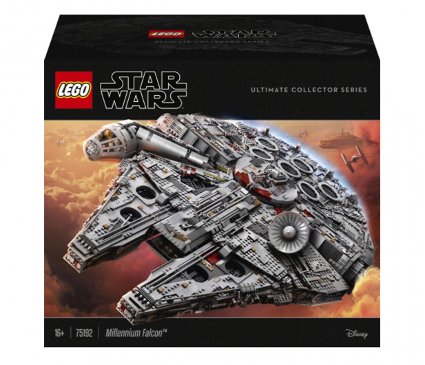 LEGO Star Wars 75192 Sokół Millennium - 409842 - zdjęcie