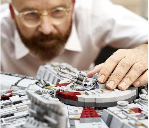 LEGO Star Wars 75192 Sokół Millennium - 409842 - zdjęcie 2