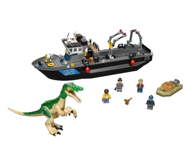 LEGO Jurassic World 76942 Barionyks i ucieczka łodzią - 1024898 - zdjęcie 5