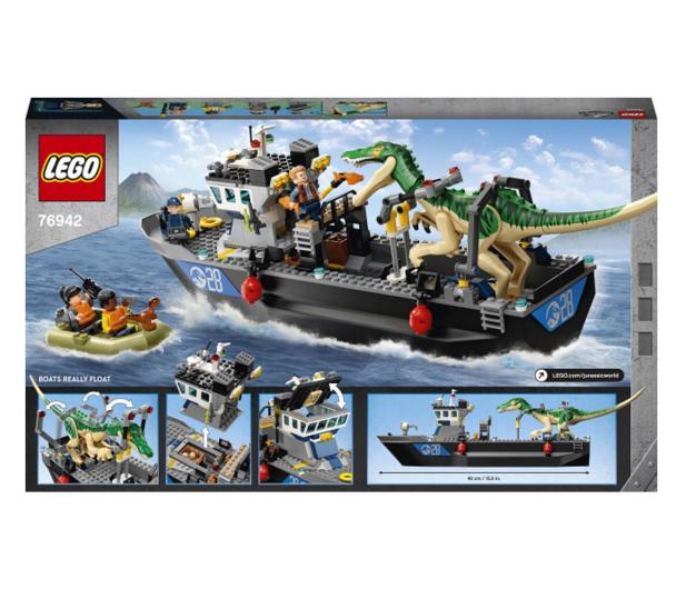 LEGO Jurassic World 76942 Barionyks i ucieczka łodzią - 1024898 - zdjęcie 6