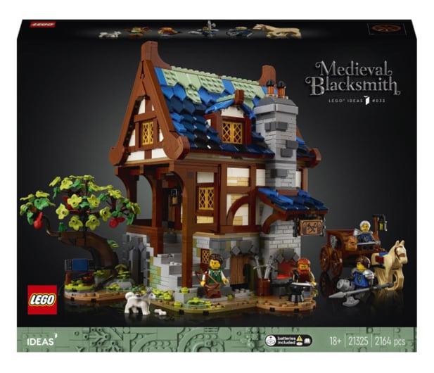 LEGO IDEAS 21325 Średniowieczna kuźnia - 1015288 - zdjęcie