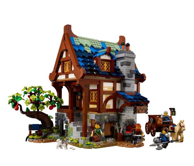 LEGO IDEAS 21325 Średniowieczna kuźnia - 1015288 - zdjęcie 5