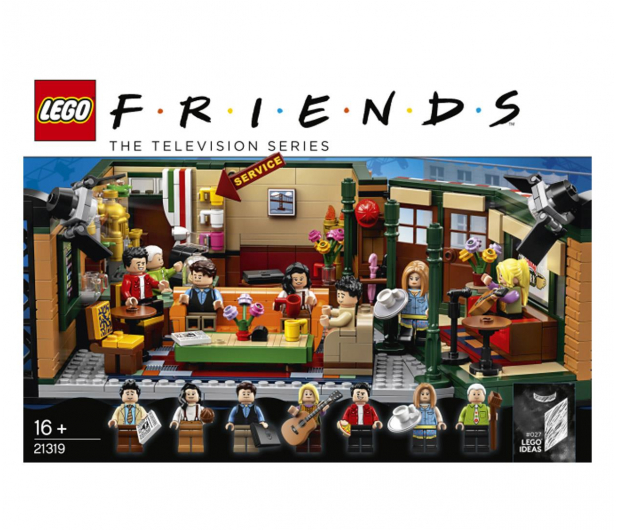 LEGO IDEAS 21319 Friends Central Perk - 532875 - zdjęcie