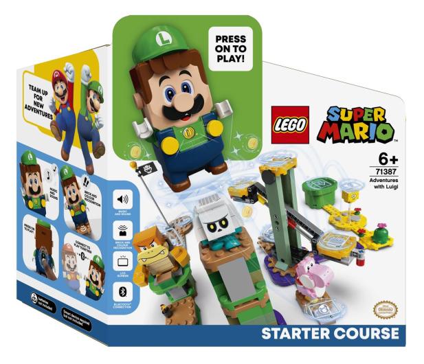 LEGO Super Mario 71387 Przygody z Luigim - 1022096 - zdjęcie