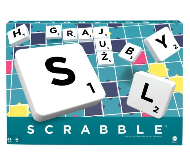 Mattel Scrabble Original - 158697 - zdjęcie