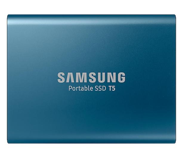 Samsung Portable SSD T5 500GB USB 3.2 Gen. 2 Niebieski - 383634 - zdjęcie