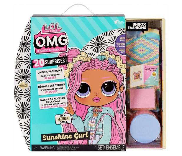L.O.L. Surprise! OMG Doll Series 4,5 Sunshine - 1025748 - zdjęcie 2