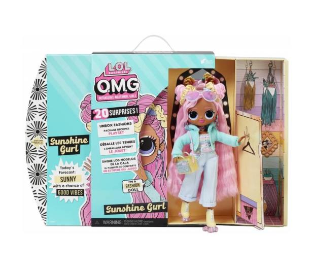 L.O.L. Surprise! OMG Doll Series 4,5 Sunshine - 1025748 - zdjęcie 3
