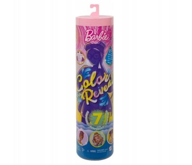 Barbie Color Reveal Lalka Kolorowa niespodzianka Wakacyjna - 1013946 - zdjęcie 5