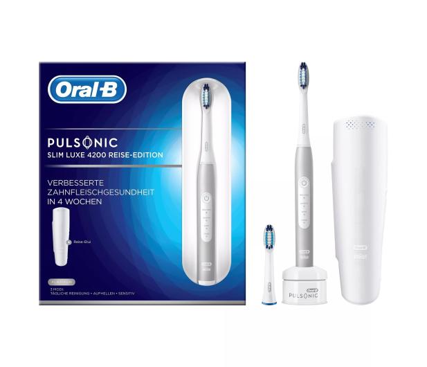 Oral-B Pulsonic Slim Luxe 4200 White - 521855 - zdjęcie 2