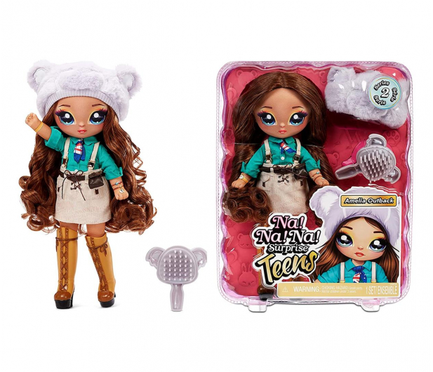MGA Entertainment Na! Na! Na! Surprise Teens Doll - Amelia Outback - 1026149 - zdjęcie