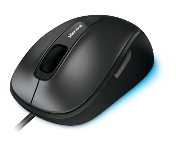 Microsoft Comfort Mouse 4500 czarna USB - 119102 - zdjęcie 2