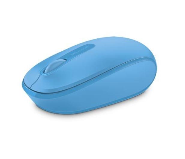 Microsoft 1850 Wireless Mobile Mouse Błękitny - 247270 - zdjęcie 2