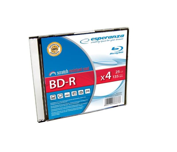 Esperanza 25GB 4x BluRay SLIM 1szt. - 57522 - zdjęcie