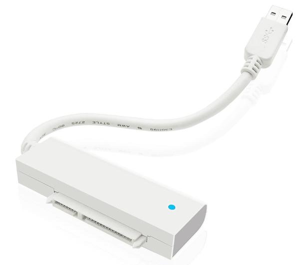 """ICY BOX Obudowa do dysku 2.5"""" (USB 3.0, transparentny) - 211685 - zdjęcie 2"""