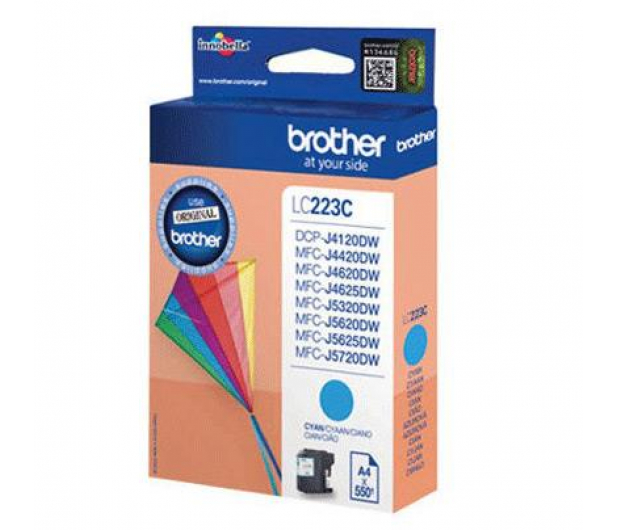 Brother LC223C cyan 550 str. - 213019 - zdjęcie