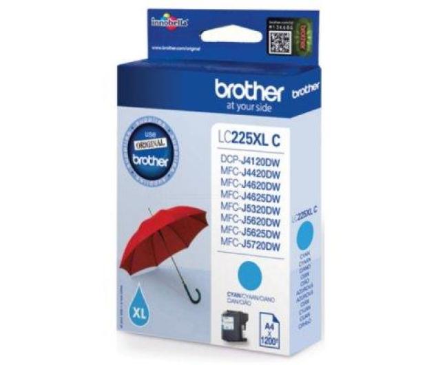 Brother LC225XLC cyan 1200 str. - 213026 - zdjęcie