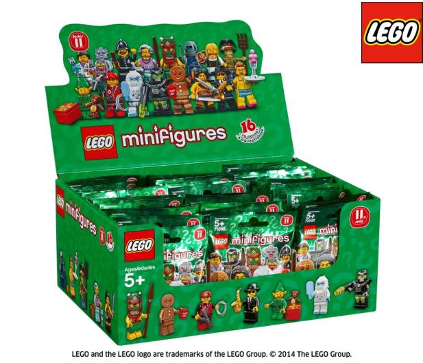 Lego Minifigurki Seria 11 Klocki Lego Sklep Internetowy Alto