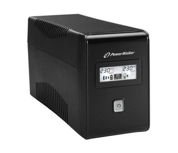 Power Walker VI 850 LCD (850VA/480W) 2xPL USB LCD - 173991 - zdjęcie 3