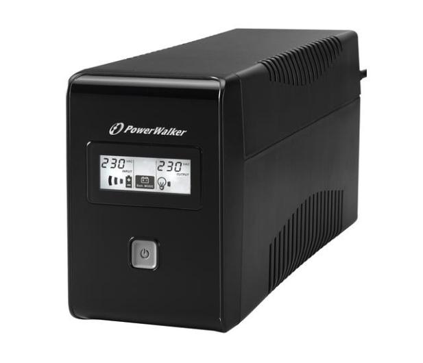 Power Walker VI 850 LCD (850VA/480W) 2xPL USB LCD - 173991 - zdjęcie