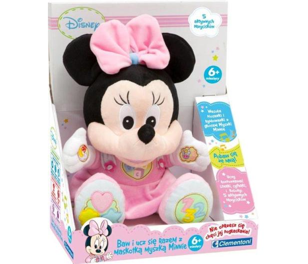 Clementoni Disney Ucząca Minnie pluszowa  - 175056 - zdjęcie 2