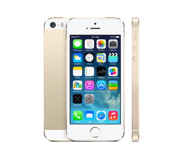 Apple iPhone 5S 32GB Gold - 167945 - zdjęcie