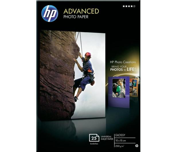HP Papier fotograficzny (10x15, 250g, błysk) 25szt. - 21143 - zdjęcie