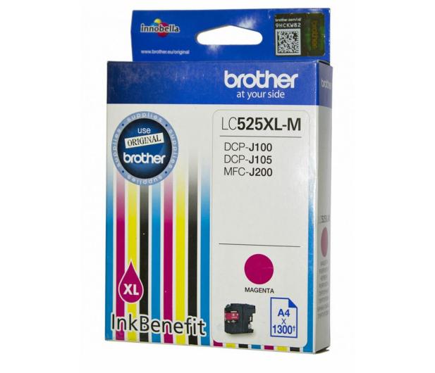 Brother LC525XLM magenta 1300str.  - 180537 - zdjęcie