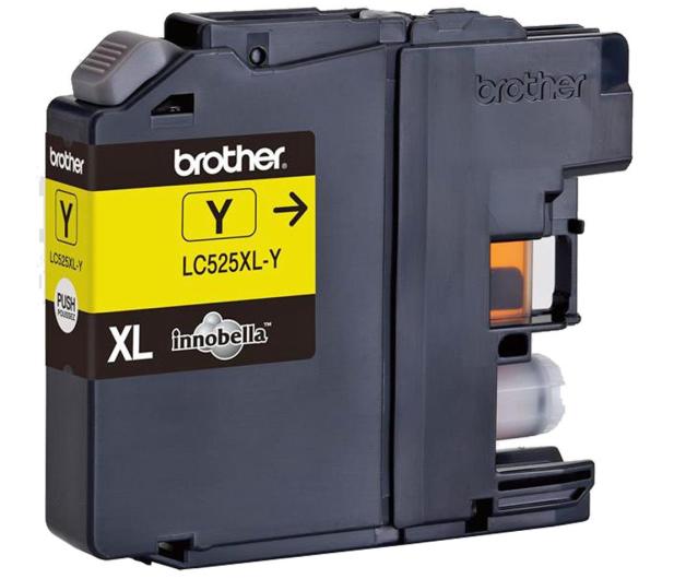 Brother LC525XLY yellow 1300str. - 180538 - zdjęcie 2
