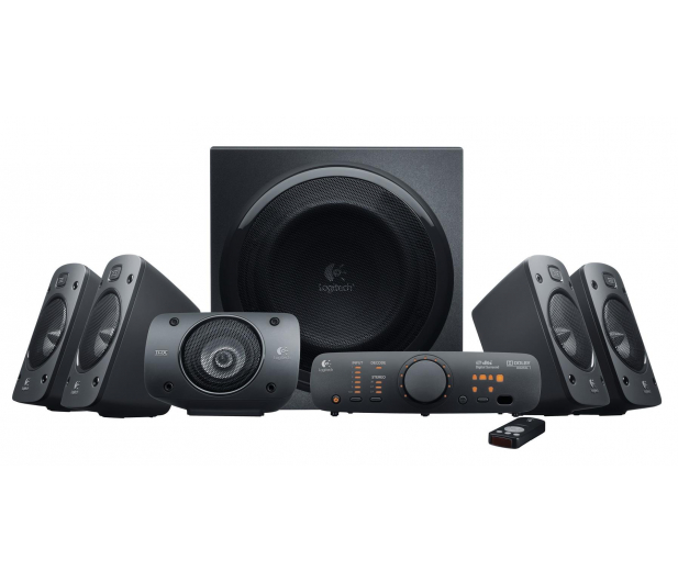Logitech 5.1 Z906 Surround Sound Speakers - 65406 - zdjęcie 1
