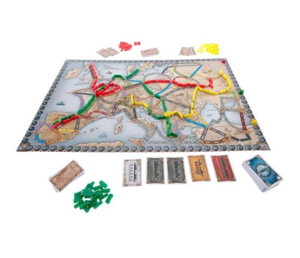 Rebel Wsiąść do Pociągu: Europa - 205680 - zdjęcie 3